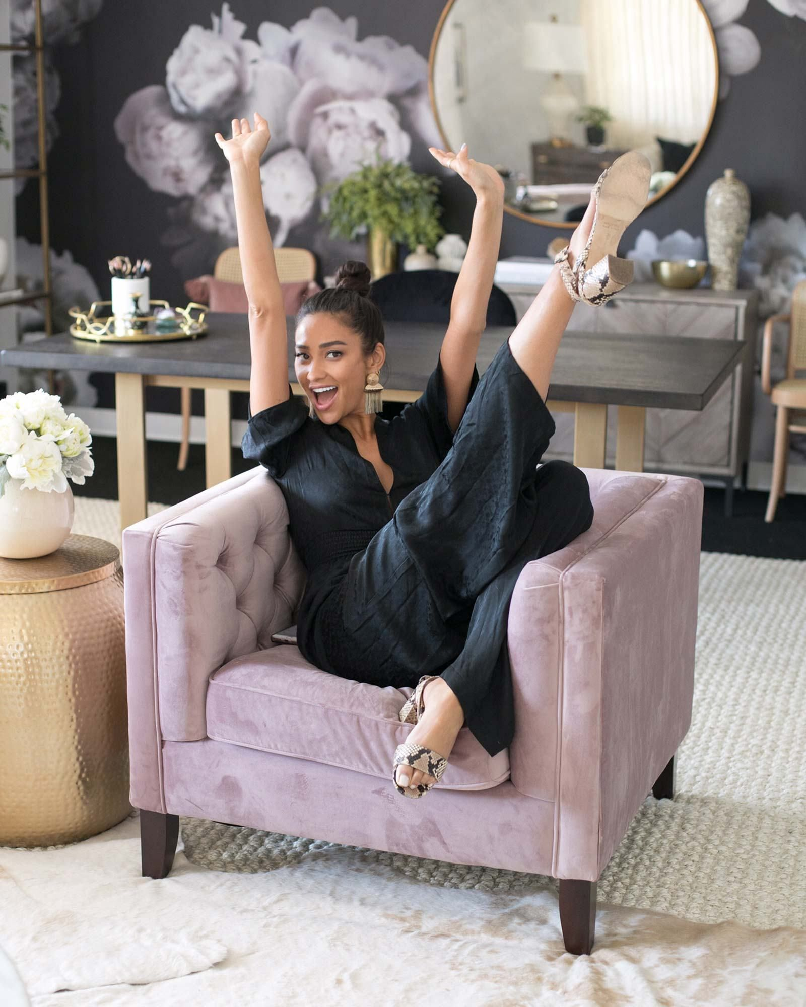 """Inside Shay Mitchell's Chic Hollywood Office: It """"Makes Me Feel Like a Business Woman When I Walk In"""""""
