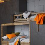 #Inspiration #Jugendzimmer #Jungenzimmer #Etagenbett #Holztreppe