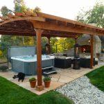 Installieren Sie Stöcke für eine Gartenpergola - einfache Schritte » Wohnideen für Inspiration