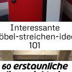 Interessante möbel-streichen-ideen 101 #projekteimfreien interessante möbelstr...