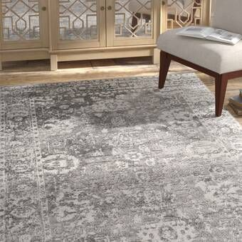 Inyo Hand Tufted Wool Red Area Rug