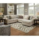 Ipswich Left Hand Facing Modular Sectional with Ottoman