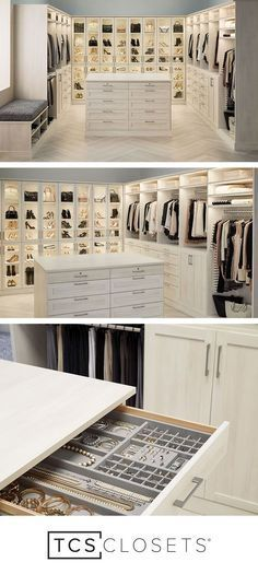 Is it your master closet or your favorite boutique? TCS Closets is the custom cl…