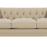 Isadore Queen Size 2-Cushion Fabric Sleeper Sofa with Tufted Back