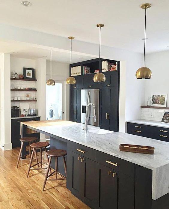 Jag lovar att det här är IKEA-kök #kitchen