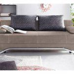 Jockenhöfer Gruppe Schlaf-Sofa, braun, Inkl. loser Zier- und Rückenkis