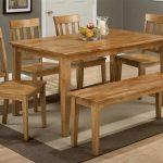 Jofran Furniture Simplicity Honey 6pc Dining Room Set