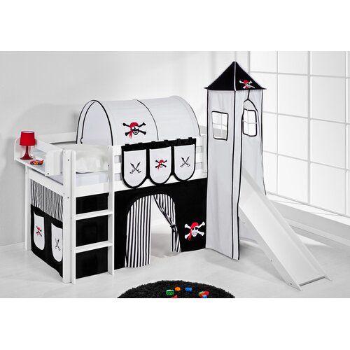 Just Kids Jelle Mid Sleeper Bed with Textil Set | Wayfair.co.uk