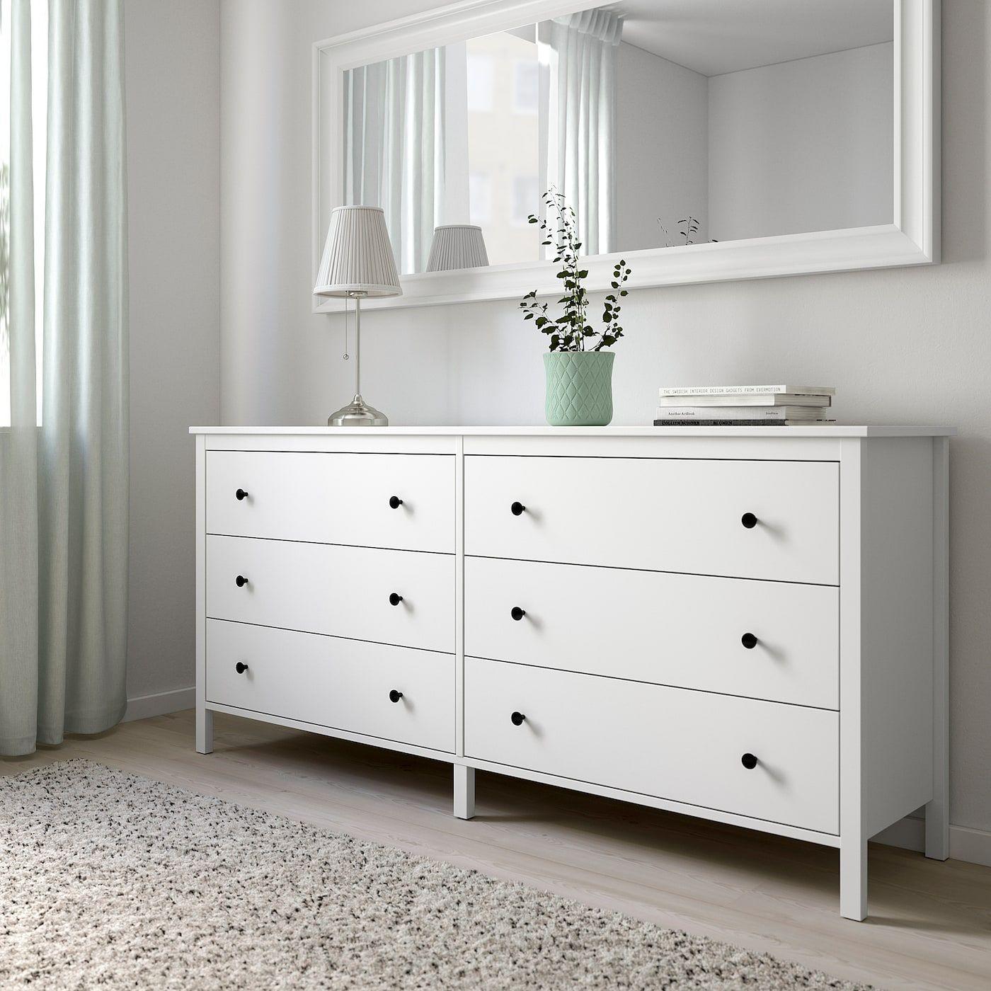 KOPPANG 6-drawer dresser – white – IKEA