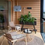 Keisha saved to BALCONIESbois, beige, noir #homedesignideas #balconydesign #balc...