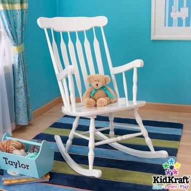 KidKraft kids Hill Country Adult Rocking Chair-White – FREE SHIPPING