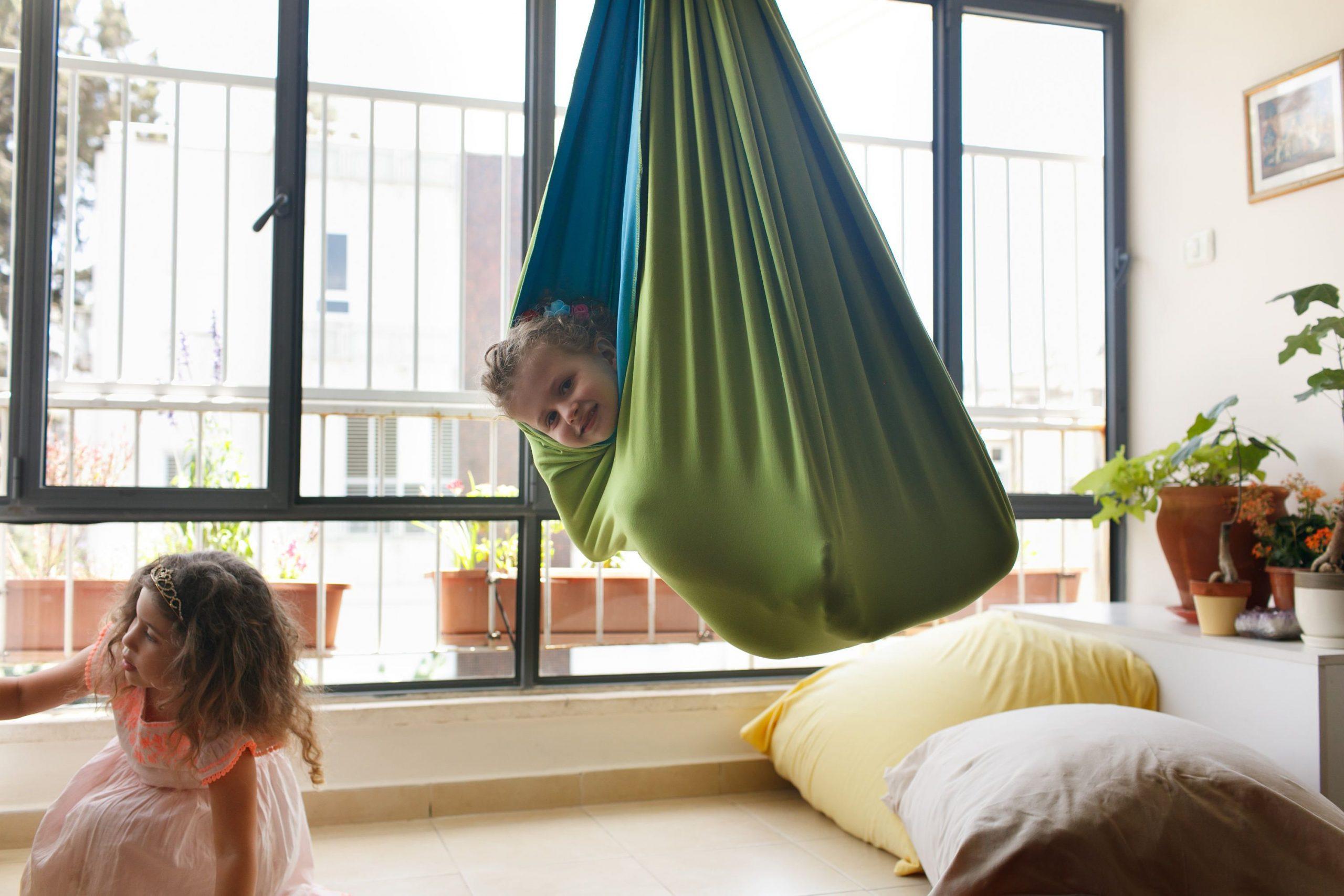 Kids Room Decor, Indoor Swing, Hanging Chair, Sensory Swing, Hammock Chair, Swing Chair, Kids Toy, Outdoor Swing, Kids Outdoor Hammock Swing