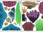 Kinder Wandtattoos Coral Seaweed Wandtattoos Ocean Wall Stickers#fashionshoot #f...