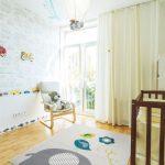 Kinderzimmer teppich, Kinder Teppich Modern Kinderzimmer Sterne Blumen von Kinde...