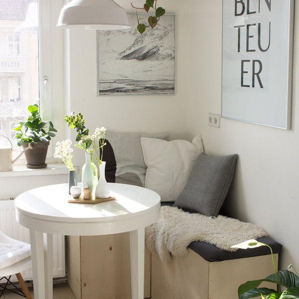 Klein, aber fein! Die besten Ideen für kleine Räume – bingefashion.com/dekor