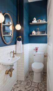 Kleine Badezimmer Design Ideas – #badezimmer #BadezimmerDesignIdeen #design #ideen #kleine –