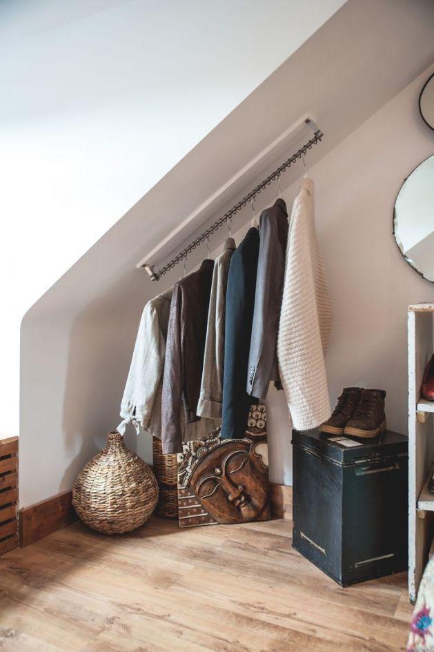 Kleine Dachgeschoss-Schlafzimmer Design – Design d'intérieur Schlafzimmer Ideen für ein Budget-Check mehr – Wood Design