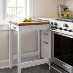 Kleine Küchendekoridee mit praktischem Tisch, 30 schicke kleine Küc … - bingefashion.com/interior