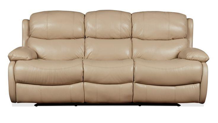 Kleine Leder-Liege In Braunem Leder Liegende Sofa Liegenden Schnitt Sectional So…
