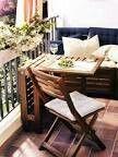 #Kleiner Balkon #Kleiner Balkon zum Dekorieren #Kleine Balkonideen #Kleiner Balk...