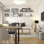 Kleines Wohn Esszimmer einrichten – Ideen für Raumaufteilung - bingefashion.com/dekor
