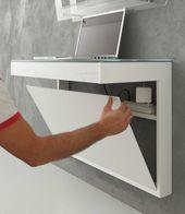 Kosmos wall console table with modern design – ARREDACLICK- Kosmos Wandkonsolent…