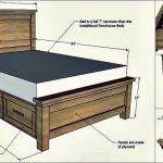 Kreative Ideen - wie man ein Bauernhaus-Speicherbett mit Fächern errichtet