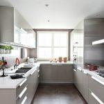 Küche Designs Für Kleine Räume - Malerei Wände weiß machen den Raum größe...