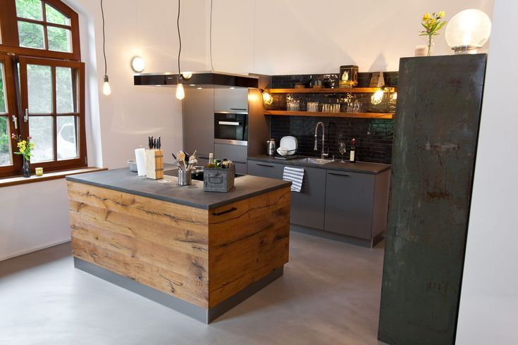 Küche: Wenn Landhausstil auf Moderne trifft – Küchenhaus Thiemann Overath / Vilk … – Wood Design