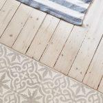 Küchen-Fußboden Holz und Fliesen – #Fliesen #Holz #KüchenFußboden #schicke #… - https://bingefashion.com/haus