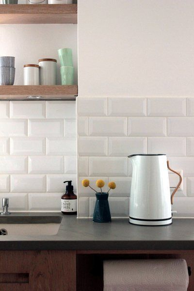 Küchen-Makeover Wandfliesenspiegel Teil 2: Klassische Metrofliesen für die Küche – Babyzimmer ideen