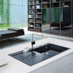 Küchen Spüle, Granitspüle, Edelstahl, Spülbecken, Küche, Keramik, Spüle sc...