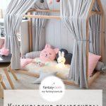 Kuschelecke im Kinderzimmer schön einrichten: Beispiele mit Tipizelten, Baldach… – DIY Ideen - bingefashion.com/interior