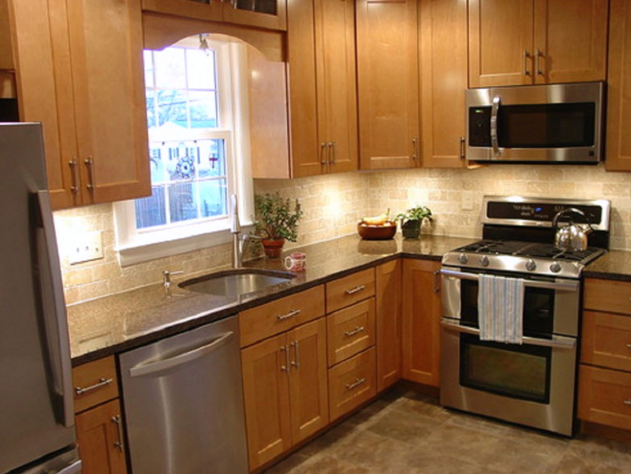 L Shaped Kitchen Design Ideas, Small L                                          …