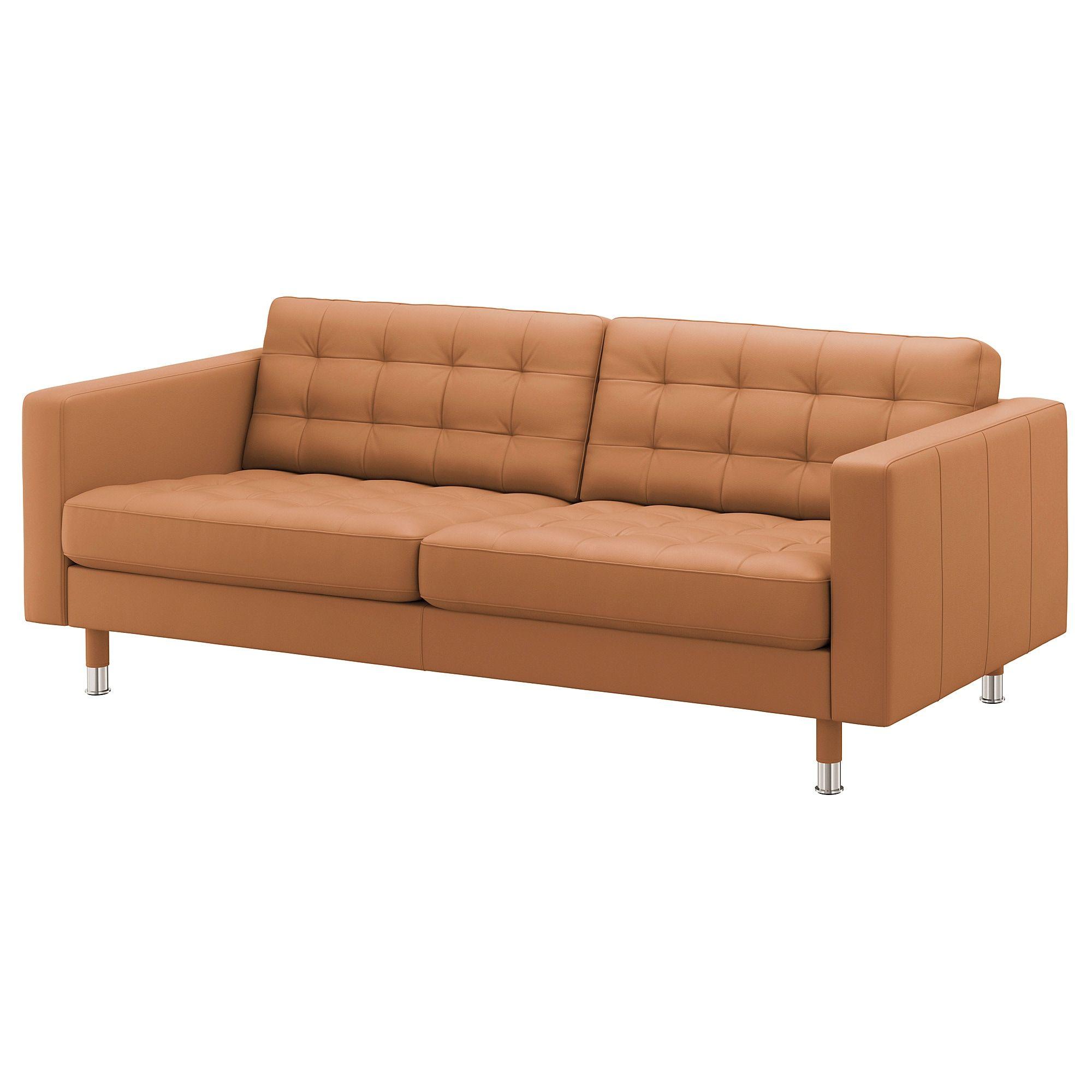 LANDSKRONA Sofa – Grann/Bomstad golden brown/metal – IKEA