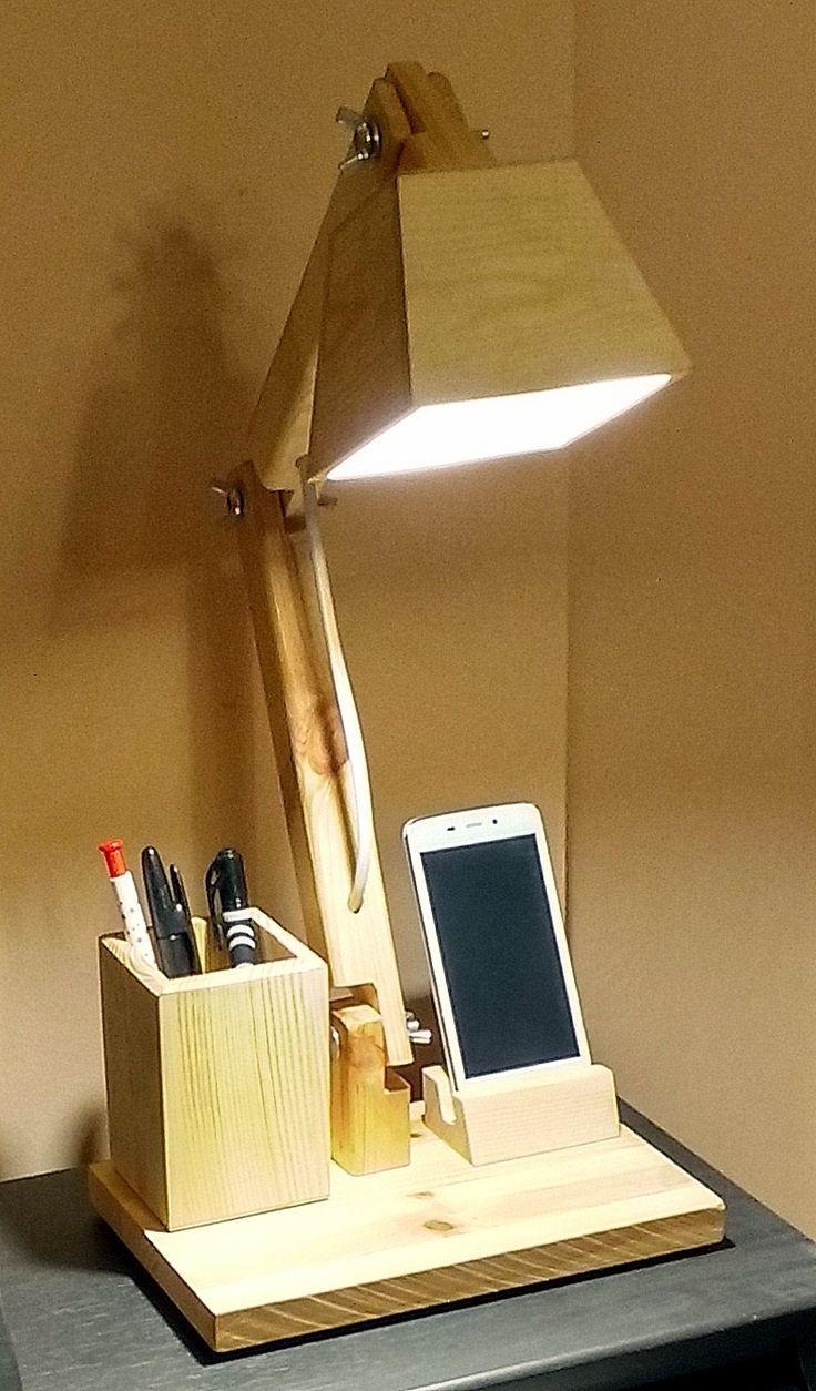 LIGHTING – OFFICE WOOD LAMP – #Barrasdecocina #Cocinaabiertaalsalon #Cocinasblan…