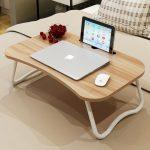 Laptop-bett-tabellen mit einfache schlaf faul schreibtisch auf bett schreibtisch deskable faltbare mehrzweck kleinen tisch