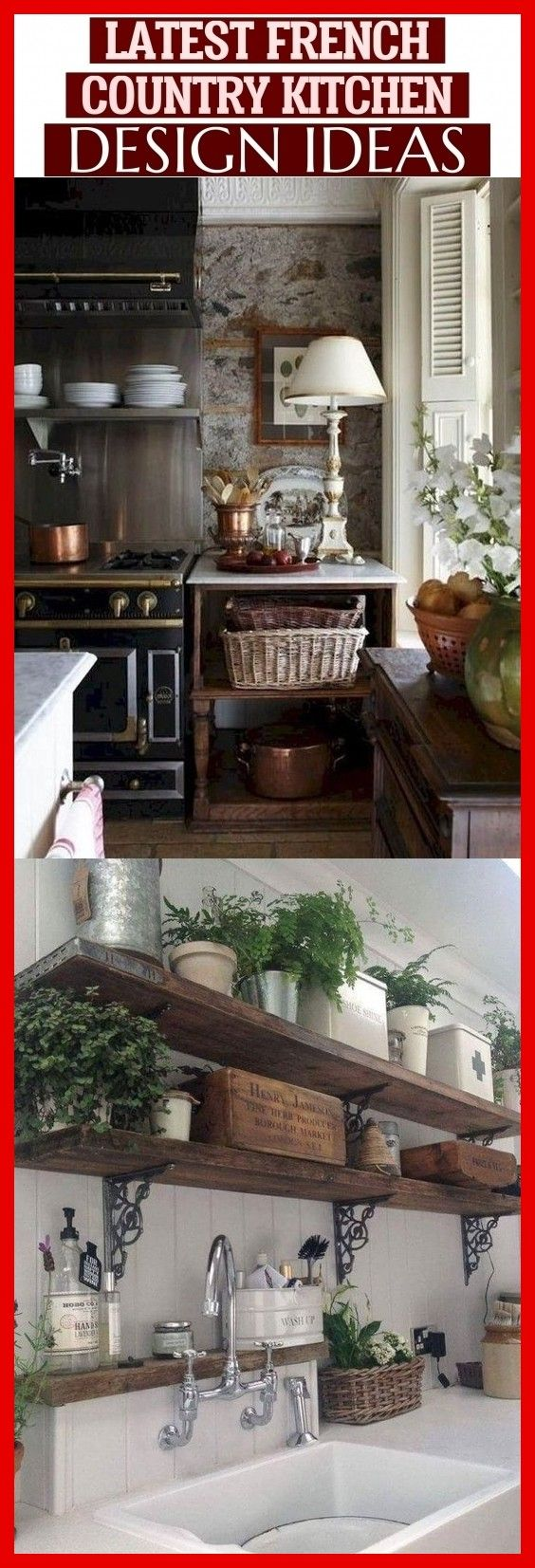 Latest French Country Kitchen Design Ideas # #frenchcountry las últimas ideas d…