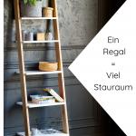 Leiterregal Holz in modernen Farben online kaufen - bingefashion.com/dekor