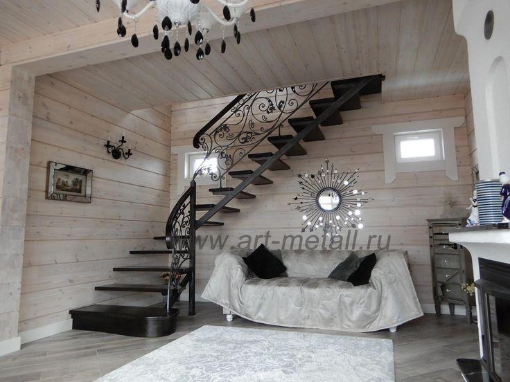 Leuchter-Treppenlaterne der Schmiedeeisenmöbel