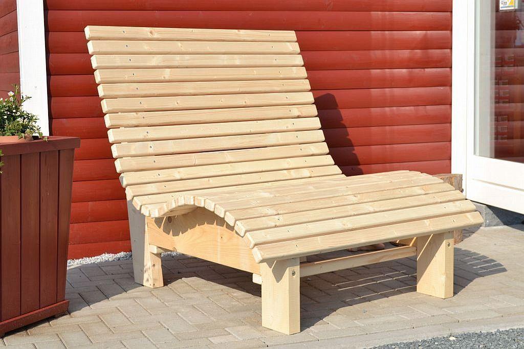 Liegestuhl Relaxliege Sonnenliege AUS Holz FÜR Garten Terasse Balkon | eBay – bingefashion.com/dekor