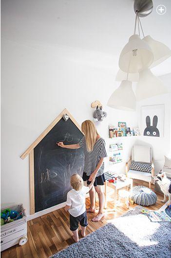 Little Architect Desk in Dark Blue design by Ferm Living