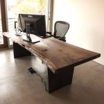 Live Edge Computer Desk — Taylor Donsker Design