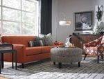 Living room decor orange grey sofas 35 Ideas#BeautyBlog #MakeupOfTheDay #MakeupB...