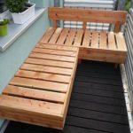 Lounge Ecke für einen kleinen Balkon selber machen mit Anleitung