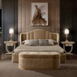 Luxury Furniture&Lighting🇮🇹 (@artliving_tlv) A Double Bed Without A Footbo...
