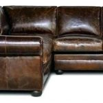Luxury distressed leather couch images