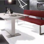 MWA Aktuell Milano Sitzbank mit Rückenlehne in Echtleder oder Kunstled