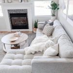 Make an all white space work by mixing in different patterns and textures. Photo...,  #mixing...