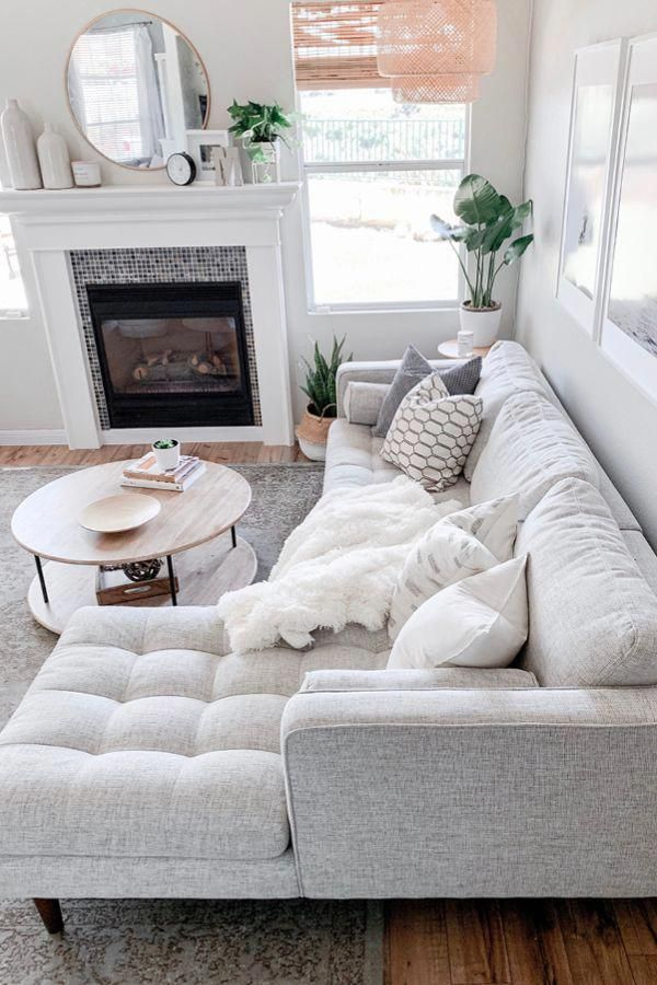 Make an all white space work by mixing in different patterns and textures. Photo…,  #mixing…